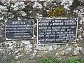 Notices, Stedham - geograph.org.uk - 1271326.jpg
