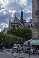 Notre-Dame de Paris and Rue du Cloître-Notre-Dame, 12 June 2015.jpg