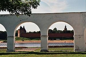 Novgorod Kremlin - Image: Novgorod Kremlin