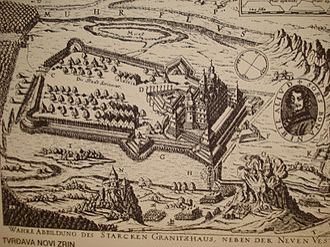 Siege of Novi Zrin (1664) - Image: Novi Zrin