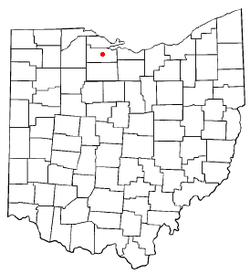 Location of Fremont, Ohio