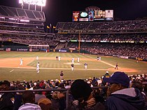 Oakland Alameda Coliseum Baseball game September 30, 2004.jpg