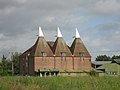 Oast House at Little Mill Farm, Underlyn Lane, Marden - geograph.org.uk - 330972.jpg