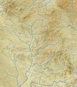 Oberpfälzer Wald (Relief und Gewässer) - Deutsche Mittelgebirge, Serie A-de.png