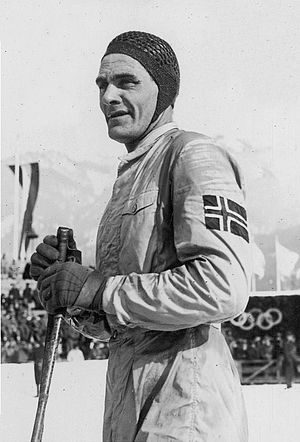Oddbjørn Hagen - Hagen at the 1936 Olympics