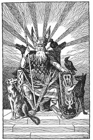 Odin, the Allfather by H. L. M.jpg