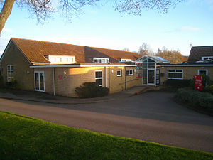 Oakley Church of England Junior School - Image: Office At Oakley Junior School