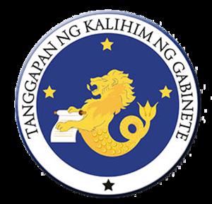 Cabinet Secretary (Philippines) - Image: Office of the Cabinet Secretary