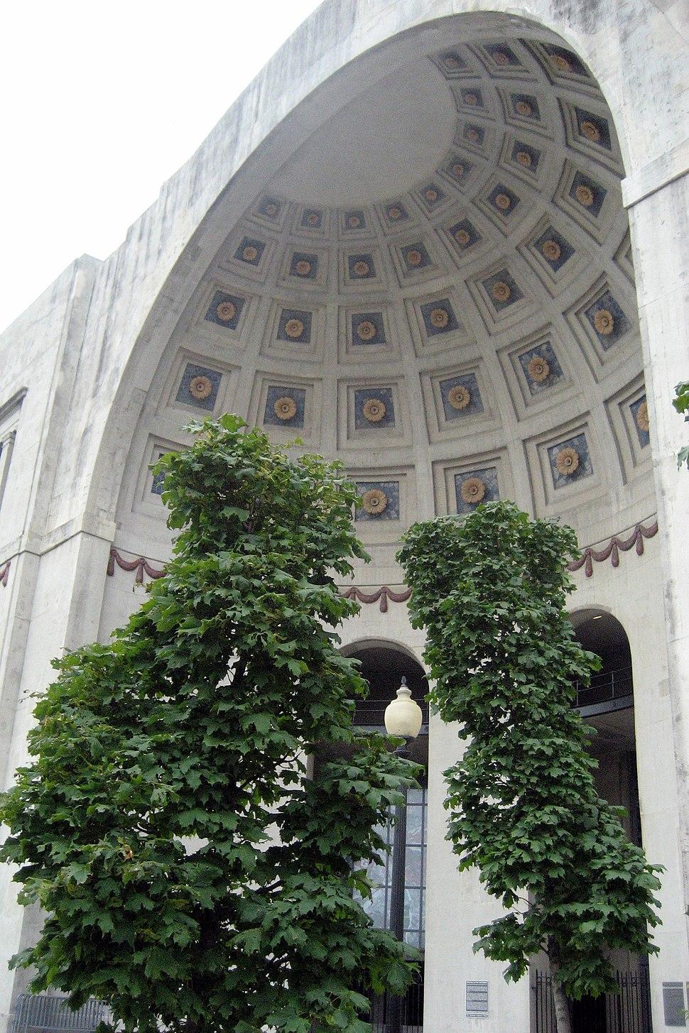 Ohio Stadium rotunda 2006