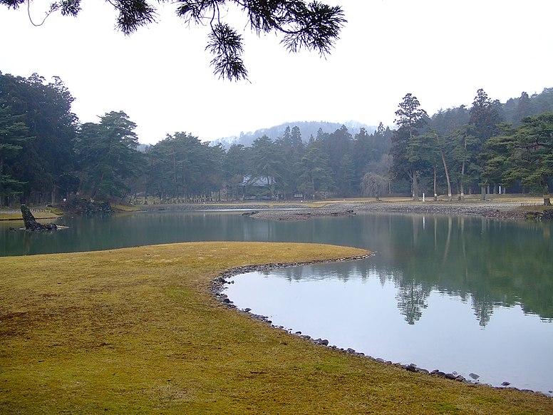 Oizumi Pond Motsuji Hiraizumi 2007-01-27