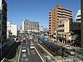 Okayama Electric Tramway Seikibashi Tram Stop - panoramio (3).jpg