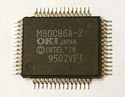 OKI M80C86A QFP-56