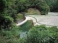 Okusato Dam and lake left view.jpg