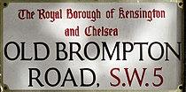 Old Brompton Road sign.jpg