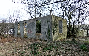 Girvan Old railway station - Site of Girvan Old railway station
