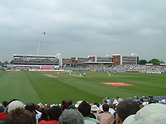 Dominic Cork - Old Trafford, where Cork played for Lancashire from 2004 to 2008