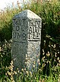 Old stone sign, Reperry Cross - geograph.org.uk - 211984.jpg