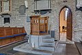 Oldleighlin St Lazerian's Cathedral Pulpit 2017 09 10.jpg