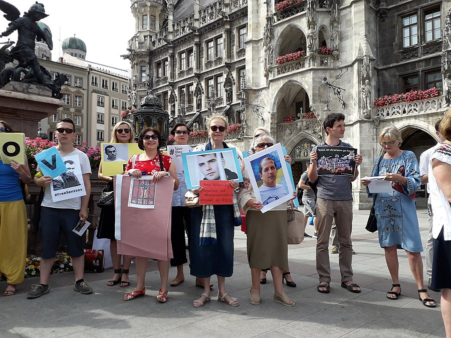 Oleg Sentsov, Action Support. Munich, Germany. 2018-06-03. 14.jpg