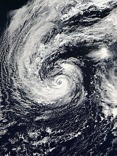 Hurricane Olga Category 1 Atlantic hurricane in 2001
