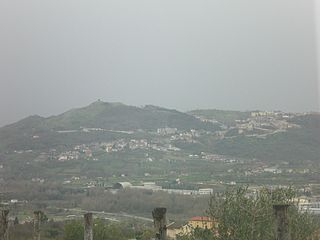 Oliveto Citra Comune in Campania, Italy