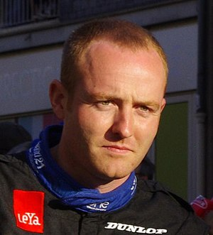 Olivier Pla - Pla at the 2011 24 Hours of Le Mans driver parade