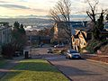 Olympic Mountains from Fremont, Seattle, in residential neighborhood.jpg