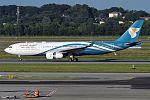 Oman Air, A4O-DA, Airbus A330-243 (28461572755).jpg