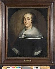 Jenneke van Andelgem. Echtgenote van Flores Husson
