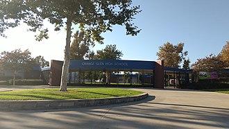 Orange Glen High School - main entrance
