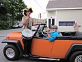 Orange Willys 1951 NOLA kazoo drummer.JPG