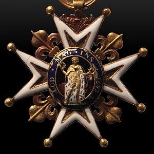 Philippe Hubert Preudhomme de Borre - De Borre won the Order of Saint Louis in 1757.