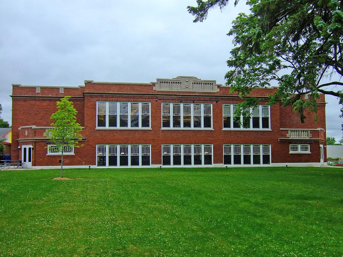 Red Brick School Oregon Wisconsin Wikipedia
