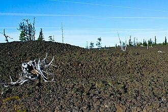 Oregon Route 242 - Image: Oregon Route 242 Lava Beds