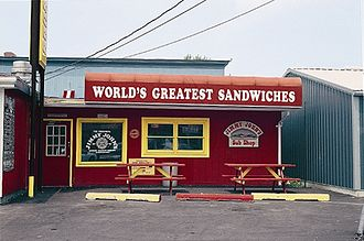 Jimmy John's - The original Jimmy John's shop in Charleston, Illinois, opened January 13, 1983.