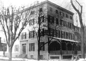 Salesianum School - Image: Original Salesianum 8th and West Streets