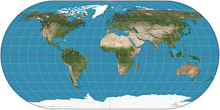 Ortelius oval projection