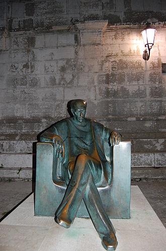 Jakov Gotovac - Monument to Jakov Gotovac in Osor