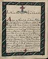 Oswiadczenie adepta do zakonu benedyktynów w Lubiniu (05).jpg