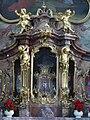 Ottobeuren Basilika Ottobeuren altar of st scholastica 05.JPG