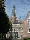oude kerk te voorburg, nederland. old church, voorburg, netherlands