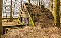 Oude schuilhut met vangkraal voor heideschapen. Locatie, natuurgebied Delleboersterheide – Catspoele 04.jpg