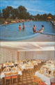 Outdoor pool and a dining room at the Jockey Country Club in Ellenville, NY55 (8149324313).png