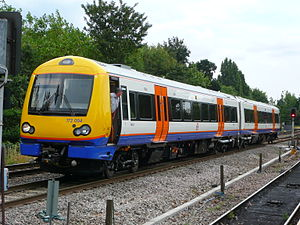 Arriva Rail London - Image: Overground Class 172 Gospel Oak