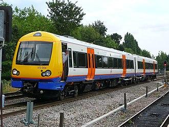 London Overground Rail Operations Limited - Image: Overground Class 172 Gospel Oak