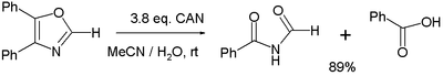 Oxazoline CAN oxidation