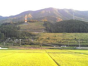 Ōzu, Ehime - Image: Ozu rice paddies