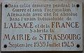 Périgueux mairie Strasbourg plaque.JPG