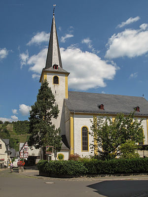 Pünderich - Kirchstraße: Saint Mark the Evangelist's Catholic Parish Church