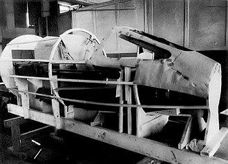 Messerschmitt P.1112 - Image: P.1112 mockup 1945 front